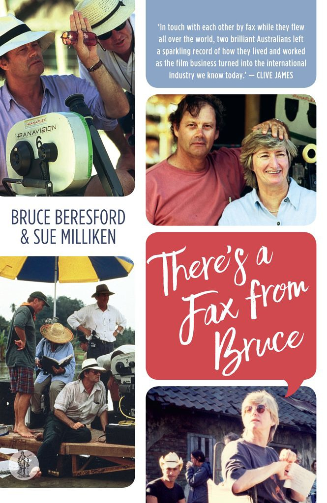 There's a Fax from Bruce, by Sue Milliken