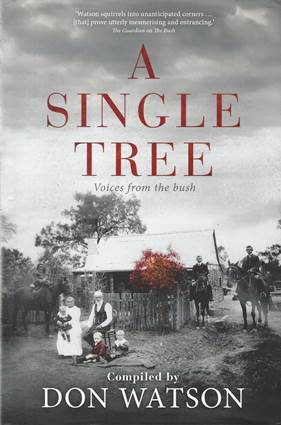 Book Review – A Single Tree, Voices from the Bush