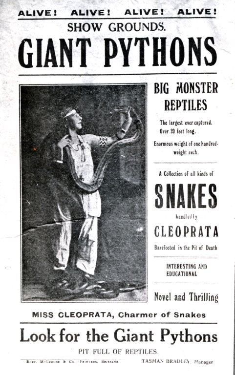Remember the Snake Man of La Perouse?