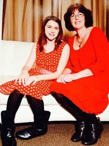Jennifer and her daughter Mathilde