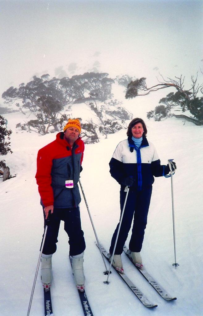Bruce Bereford & Sue Milliken.