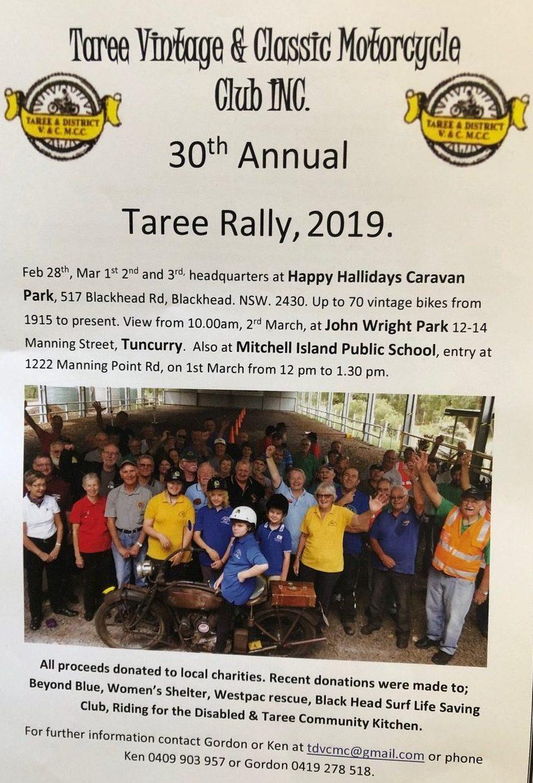 Taree Vintage & Classic Motorcycle Club